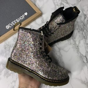 Dr Martens Glittery Boots